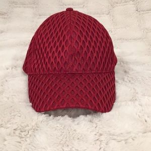 FREE HAT W BUNDLE Burgundy Mesh Baseball Hat